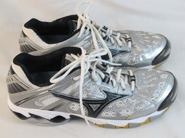 Mizuno Wave Lightning 5 Volleyball Shoes Women's Size 9.5 US Excellent Condition - $36.51