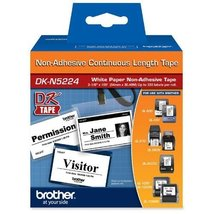 Brother, DKN5224, Label Tape Cartridge, 100ftx2.10in - $23.65