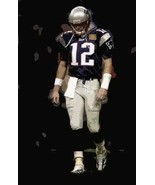 Great Tom Brady New England Patriots Art Lithograph - $24.74