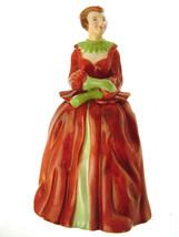 Lawton Studio China Figurine Elizabeth Red Dress - $103.53