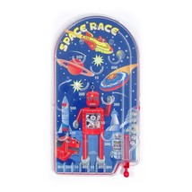 Schylling robot pinball game hand held game 25cms Bagatelle - $15.17