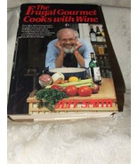 1986 The Frugal Gourmet Cooks with Wine VERY GOOD w/DJ - $10.00