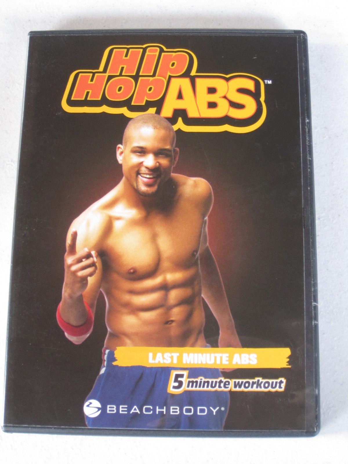 Hip Hop Abs Beachbody DVD Lot (Hips Buns Thighs & Last Minute Abs)