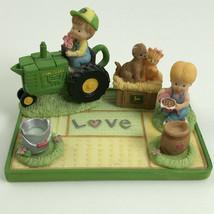 Enesco John Deere Friends Valentine Mini Tea Set 8 pcs 804053 Ceramic Co... - $9.98