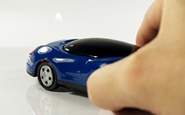 Race Car Butane Lighter - One Lighter w/Random Color and Design (Blue) [Misc.]