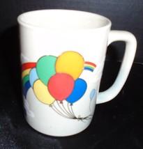 OTAGIRI  Stoneware Coffee Cup Mug Sky Theme Bal... - $14.84