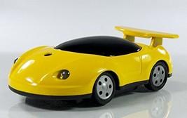 Race Car Butane Lighter - One Lighter w/Random Color and Design (Yellow) [Misc.]
