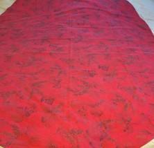 VINTAGE RED LEAVES PINECONES & PINE BOUGHS TABL... - $9.79