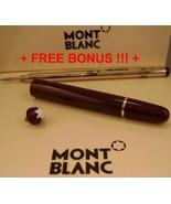 Replacement spare Parts Pen Barrel for Montblanc 163 Burgundy & Gold + Bonus +++