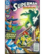 SUPERMAN #74 Doomsday & Justice League of America (1992) DC Comics VF 1st print - $9.89