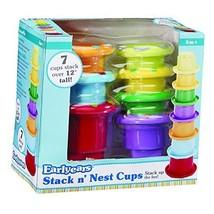INTERNATIONAL PLAYTHINGS LLC STACK N NEST CUPS (Set of 6) - $9.85