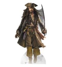 Captain Jack Sparrow Johnny Depp Cardboard Standup Express Shipping Licensed 690 - $43.95