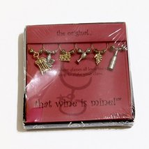 """""""That Wine is Mine"""" - Wine Glass Charms - $17.00"""