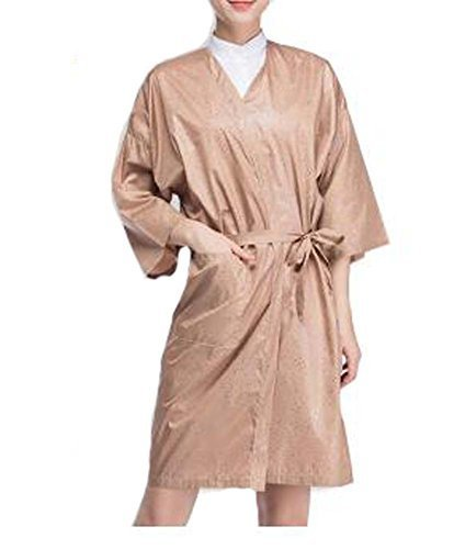 Salon Client Gown Soft Upscale Spa Robes Beauty Salon Smock for Clients