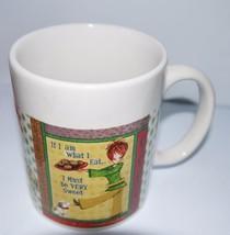 Royal Norfolk Humor Message Ceramic Mug If I Am What I Eat I Must Be Ver... - $9.90