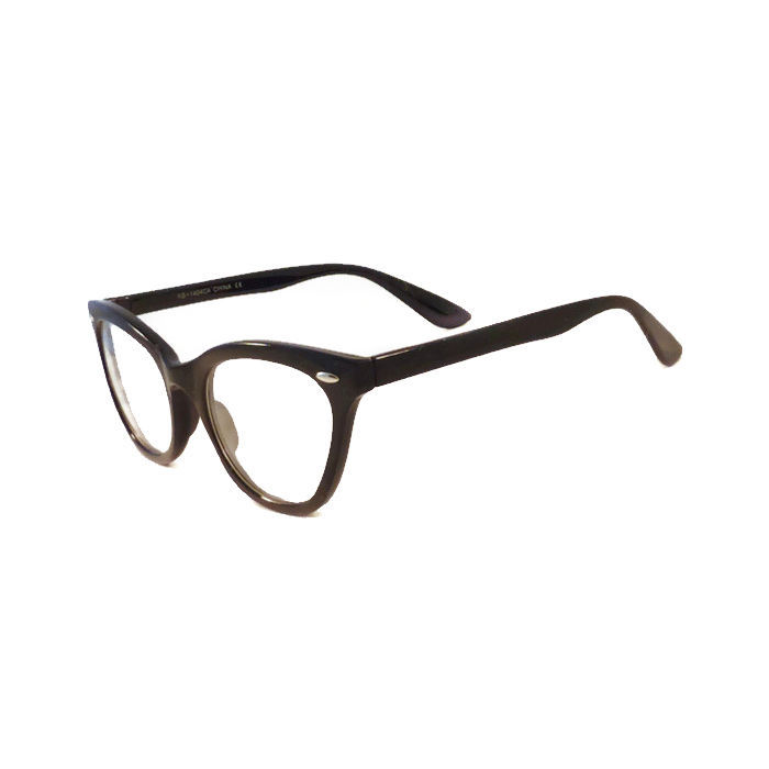 Vintage Black Frame Glasses : CAT Eye Vintage Retro Teacher Women Frame Sharp Clear Lens ...