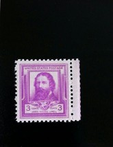 1940 3c James Russell Lowell, American Romantic Poet Scott 866 Mint F/VF NH - $0.99