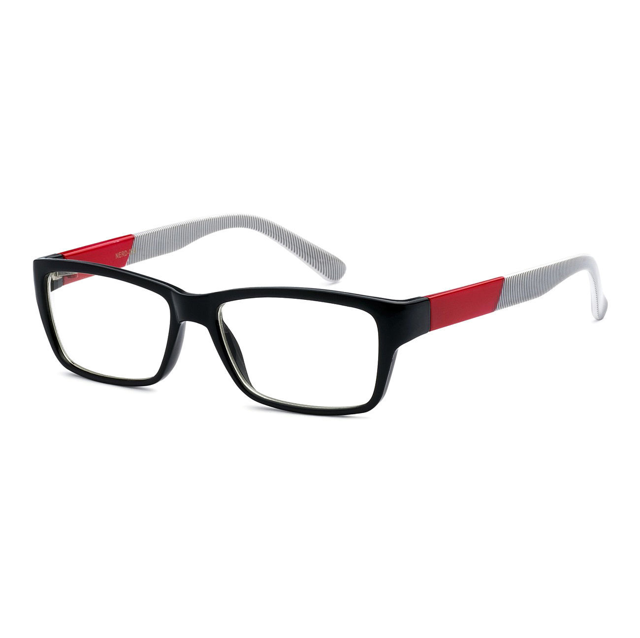 NERD Rectangle Designer Unisex Frame Smart Clear Lens Eye ...