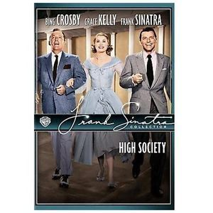 Primary image for DVD High Society WIDE: Crosby Grace Kelly Sinatra Celeste Holm Louis Armstron