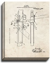 Sporting Gun Patent Print Old Look on Canvas - $39.95+