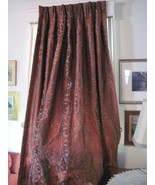 DuPioni silk insulated heavy drapery panels set of 4 - $600.00