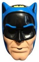 Blue Dc Comics Batman Halloween Mask Pvc Kid Size One Size Fits Most - $8.86