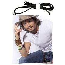 Johnny Depp Photo Shoulder Sling Bag/Handbag/Purse New  - $28.00