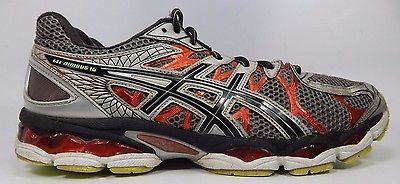 Asics Gel Nimbus 16 Men's Running Shoes Size US 12.5 M (D) EU 47 Silver T435N