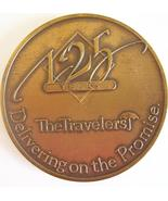 TRAVELERS INSURANCE 125 Year Annivesary Mark/Medallion/Coin 1864-1989 - $31.77