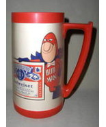 Vintage Budweiser Bud Man Thermo-Serv Insulated... - $21.95