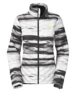 The North Face ThermoBall Insulated Jacket - Women's, Tnf Black Desert Stripe - $129.99