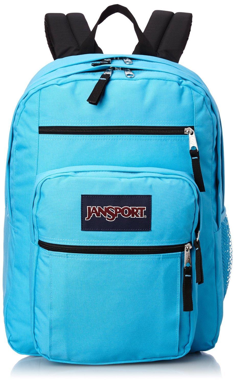 Student Backpack Large Book Bag JanSport Big Student Daypack Mammoth Blue