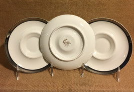 Solitude Mikasa Bone China Saucers Set of 2 More Available Excellent Condition - $8.90