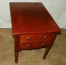 Solid Cherry End Table or Nightstand - $399.00