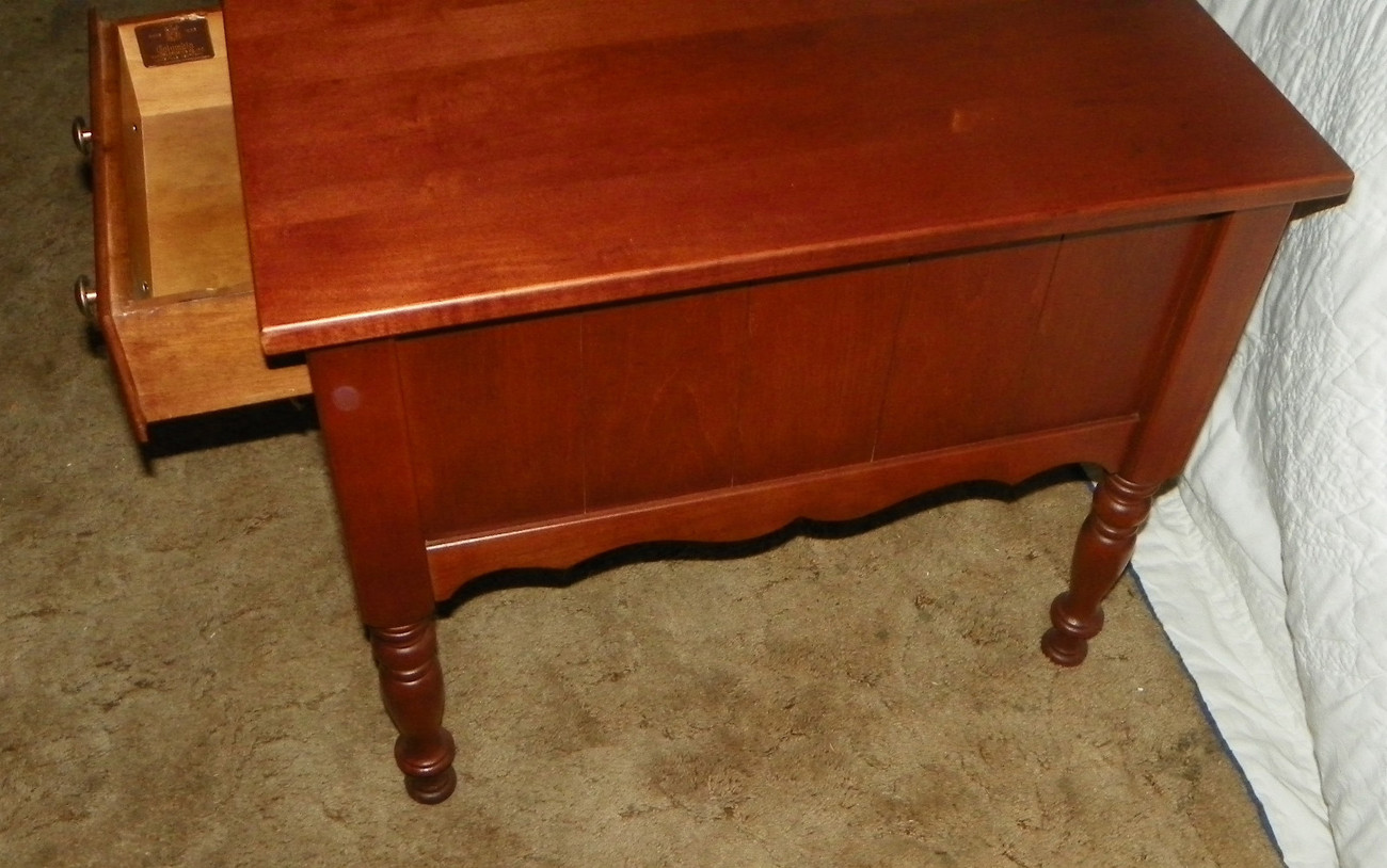 Solid Cherry End Table or Nightstand
