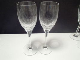2 MIKASA  GLADE  WINE STEMS~~~REALLY NICE ONES~~HTF THESE - $39.99