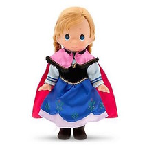 "disney precious moments frozen 12"" anna doll new with box - $68.39"