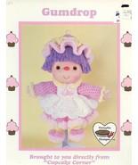 Gumdrop Doll Dumplin Design Cupcake Corner Crochet PATTERN/INSTRUCTIONS - $3.57