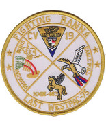 USMC USS Hancock CV-19 Fighting Hanna Patch - $9.99