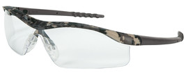 $10.99 CREWS DALLAS DIGITAL CAMO SAFETY GLASSES/CLEAR FREE EXPEDITED SHI... - $10.88