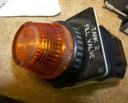 ALLEN BRADLEY 800H-PR16 pilot light ~ amber lens - $21.77