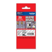 Brother 1/2 Inch x 26.2 Feet White On Clear Label Ribbon for P-Touch Lab... - $23.85