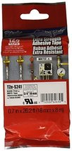 """Brother Genuine P-touch TZE-S241 Tape, 3/4"""" (0.7"""") Wide Extra-Strength A... - $26.02"""