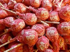 Tootsie Pops Strawberry 30 Strawberry Tootsie pop lollipop bulk candy su... - £9.43 GBP
