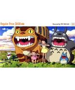 "Cross stitch pattern - My Neighbor Totoro -  Miyazaki 35.43""X19.36"" L267 - $3.99"