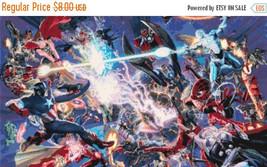 """Cross stitch pattern - Marvel secret wars 21.64""""X12.21"""" L1105 - $3.99"""