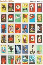 "Cross stitch pattern - Alphabet illustred characters 19.71""X28.63"" L923 - $3.99"