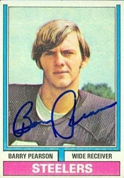 Primary image for Barry Pearson autographed Football Card (Pittsburgh Steelers) 1974 Topps #356