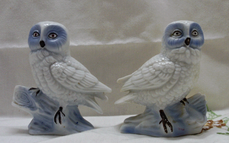 White Owl Figurines And 24 Similar Items Img 2832958717 1457827988