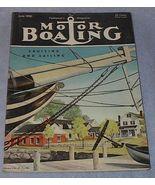 Yachtsmen Motor Boating Magazine June 1950 - $7.95